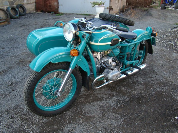 "Капсула времени: мотоцикл ""Урал"" М-67-36 1981 года с ..."
