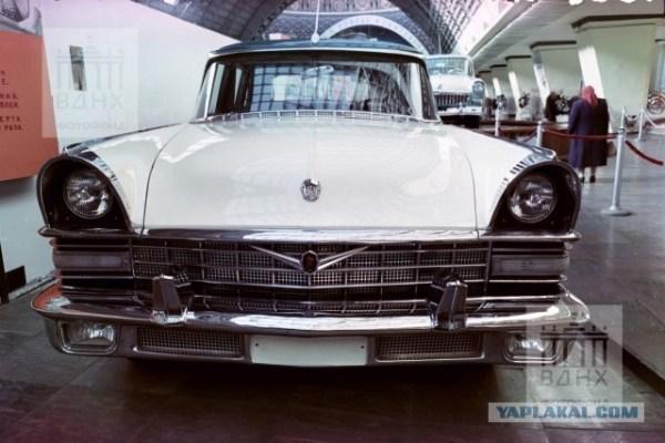 Выставка новых советских автомобилей 1961 года — редкие ...