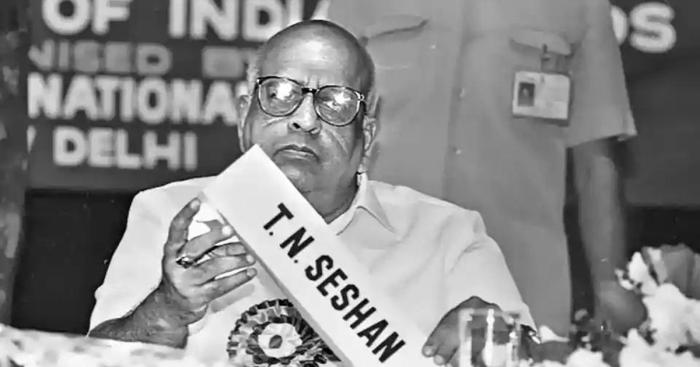 How former Chief Election Commissioner TN Seshan tamed the criminalisation of Indian politics