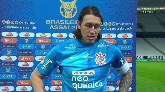 """Cássio admite """"relaxada"""" em gol no fim e diz: """"Demos chances a um adversário competente e tomamos a virada"""""""