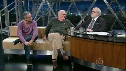 Jô interviews Marco Nanini and Fernando Libonati