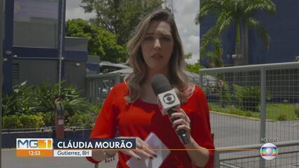 Andrea Neves presta depoimento na Polícia Federal, em Belo Horizonte