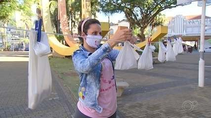 Voluntários de Jundiaí criam 'varal solidário' para ajudar moradores em situação de rua