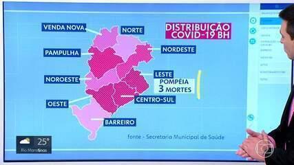 39 bairros de BH registraram mortes por causa da COVID-19