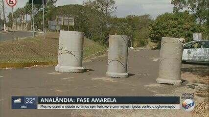 Analândia mantém suspensão do turismo mesmo na fase amarela