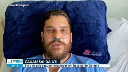 Cauan deixa UTI e é transferido para quarto para seguir tratamento contra a Covid-19