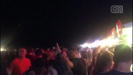 Noite de Jericoacoara tem aglomeração