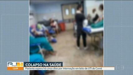 Faltam vagas de UTI para Covid na rede SUS da capital e da Baixada Fluminense