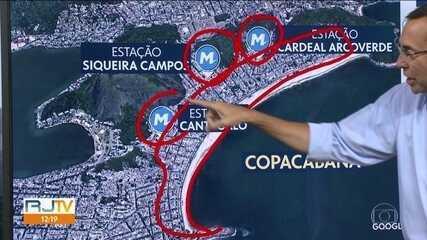 Prefeito e governador, em exercício, estudam fechar acesso a Copacabana para o Réveillon