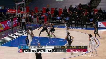 9495380 Mavericks batem os Nets, que chegam à quarta derrota seguida