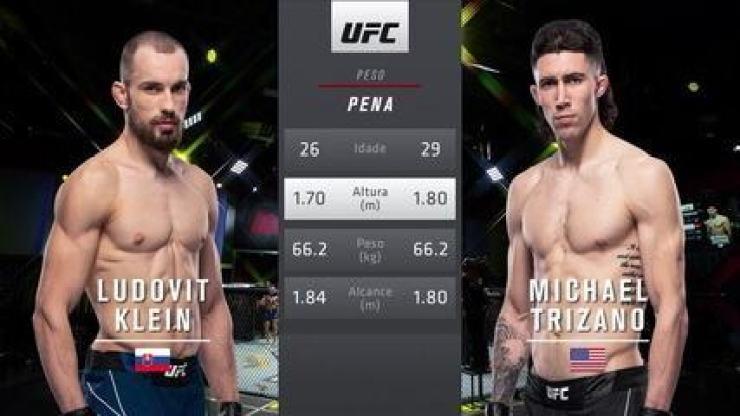 UFC Rodriguez x Waterson - Ludovit Klein x Mike Trizano