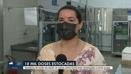No Acre, 18 mil doses de vacinas contra a Covid-19 estão sem uso em todo o estado