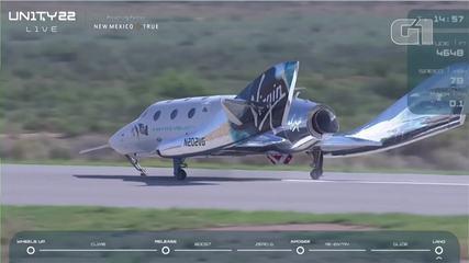 VIDEO: Virgin Galactic rocket lands safely