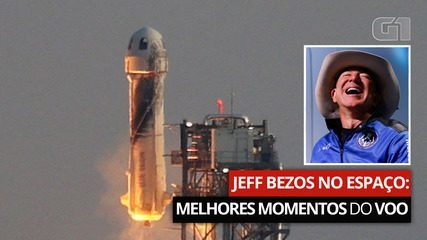 Jeff Bezos in space: See the best moments of the flight and understand the case