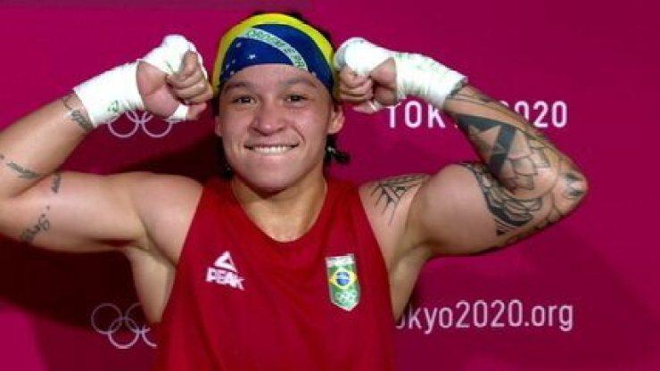Bia Ferreira diz que a luta foi do jeito que esperava e se mantém confiante - Olimpíadas de Tóquio