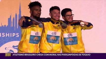 Brazilian athletics arrives with morale at the Tokyo Paralympics