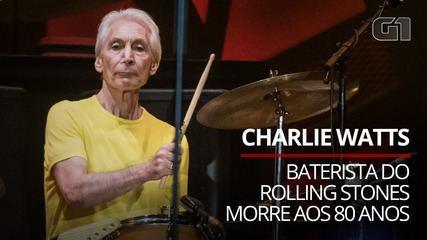 Charlie Watts, Rolling Stones drummer, dies at age 80