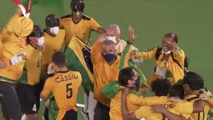 It's penta!  Brazil celebrates gold in 5-a-side football - Tokyo Paralympics