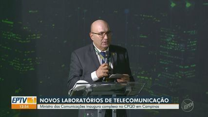 Minister of Communications opens laboratory complex in Campinas