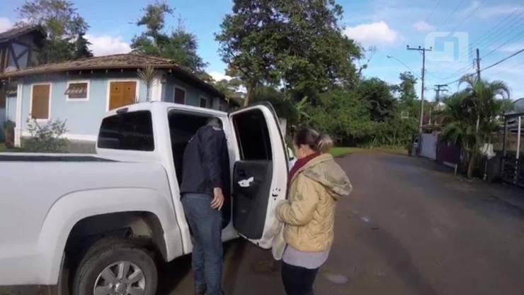 Vídeo mostra momento da prisão de Luana Don em Ilhabela (SP)