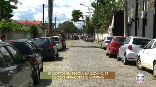 Veja o trajeto feito pelos atiradores no massacre em Suzano (SP)