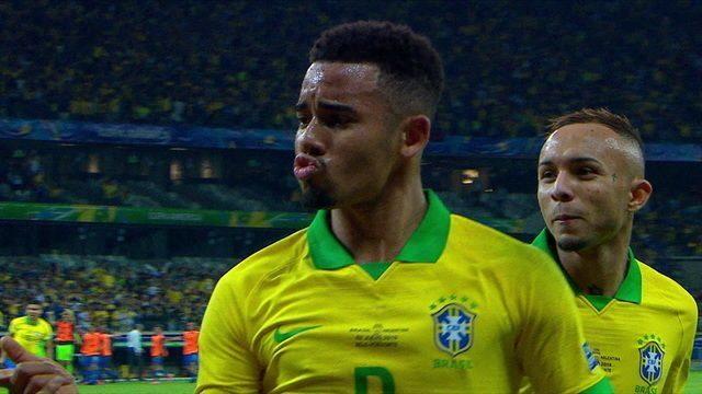 Os gols de Brasil 2 x 0 Argentina pelas semifinais da Copa América 2019