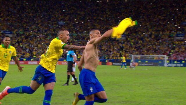 Melhores momentos: Brasil 3 x 1 Peru pela final da Copa América 2019