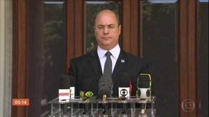 Witzel reagiu a operação da PF e cobrou ação sobre investigação de Flávio Bolsonaro