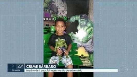 Menino de 4 anos é assassinado na própria festa de aniversário, em ...
