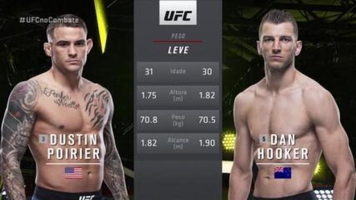 UFC Poirier x Hooker - Dustin Poirier x Dan Hooker