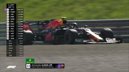 Albon abandona prova do GP da Áustria