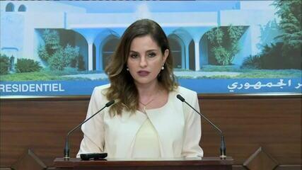 Ministra da Informação do Líbano renuncia ao cargo em meio à crise com explosão em Beirute