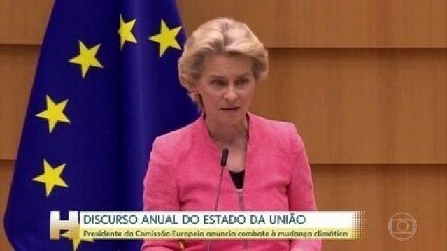 Presidente da Comissão Europeia anuncia combate à mudança climática