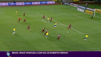 Brazil beat Venezuela with goal by Roberto Firmino