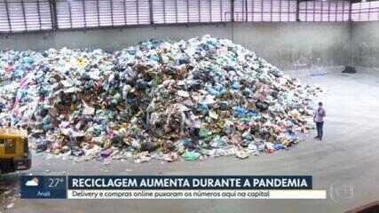 Reciclagem aumenta durante a pandemia