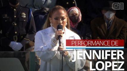 VIDEO: Jennifer Lopez sings at Joe Biden's inauguration ceremony