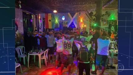 Primeiro dia de lockdown em Fortaleza tem flagrante de aglomeração