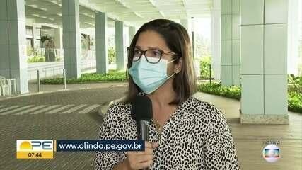 Olinda suspende agendamento para vacinação contra Covid-19 de idosos de 75 a 79 anos