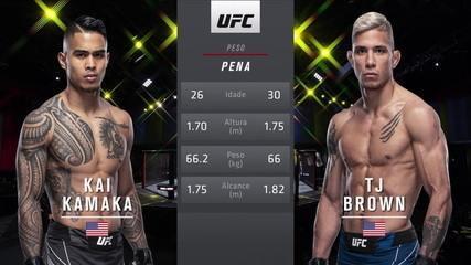 UFC Reyes x Prochazka - Kai Kamaka III x T.J. Brown