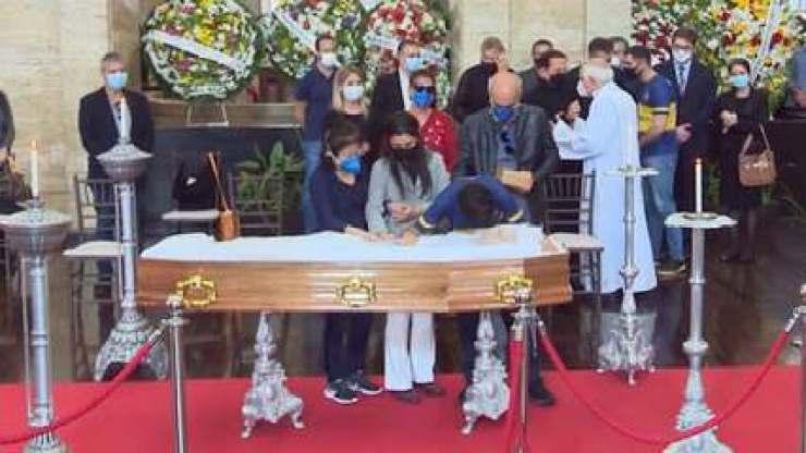 VÍDEO: O adeus emocionado e comovente de Tomás Covas ao pai
