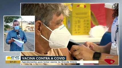 Veja as informações sobre a vacinação da Covid-19 na Grande Vitória