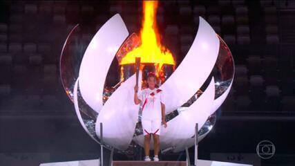 Após um ano de adiamento, a abertura das Olimpíadas de Tóquio traz mensagem de igualdade e de esperança