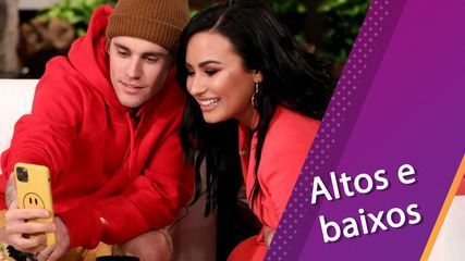 Pop Week recalls the ups and downs of the careers of Justin Bieber and Demi Lovato