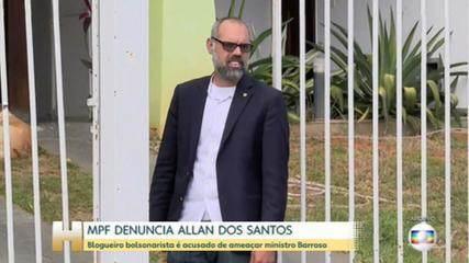 MPF denuncia Allan dos Santos por ataques a Barroso; canais usam estratégia de Trump, diz PF