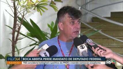 TSE revokes diploma from Deputy Boca Aberta;  alternate must assume mandate in the Chamber