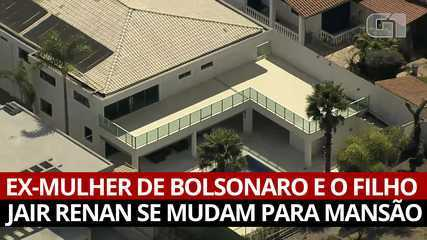 Bolsonaro's ex-wife and son Jair Renan move into the mansion;  see images