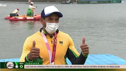 """""""my turn came"""";  Luis Carlos Cardoso talks about silver in KL1 Men's 200m Kayak - Tokyo Paralympics"""