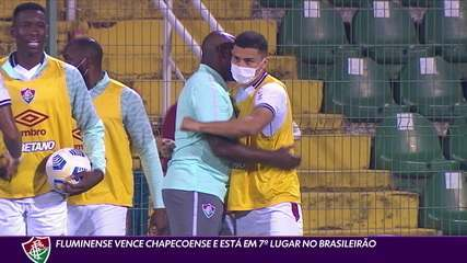Fluminense wins Chapecoense and is in 7th place in Brasileirão