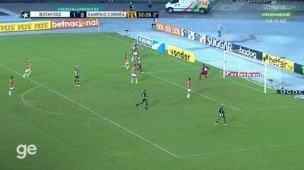 Highlights: Botafogo 2 x 0 Sampaio Corrêa, for the 26th round of the Brasileirão Serie B