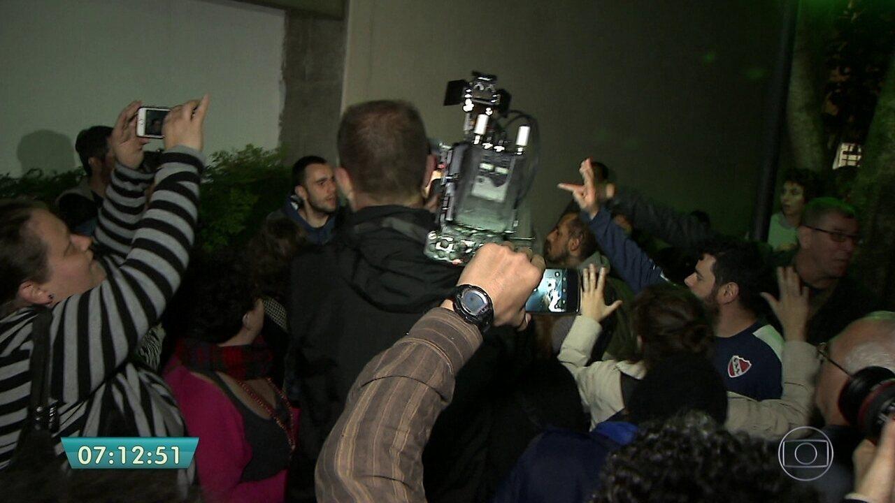Empresário palestino é preso após confronto com manifestantes em SP